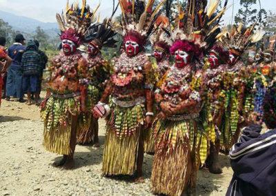 Mount Hagen Tribal Show