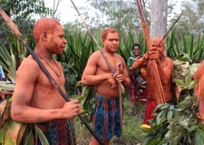 Mount Hagen Tribal Show - Mudmen