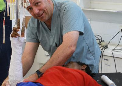 Dr. Jim Radcliffe in ER