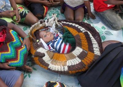 Baby in Bilum